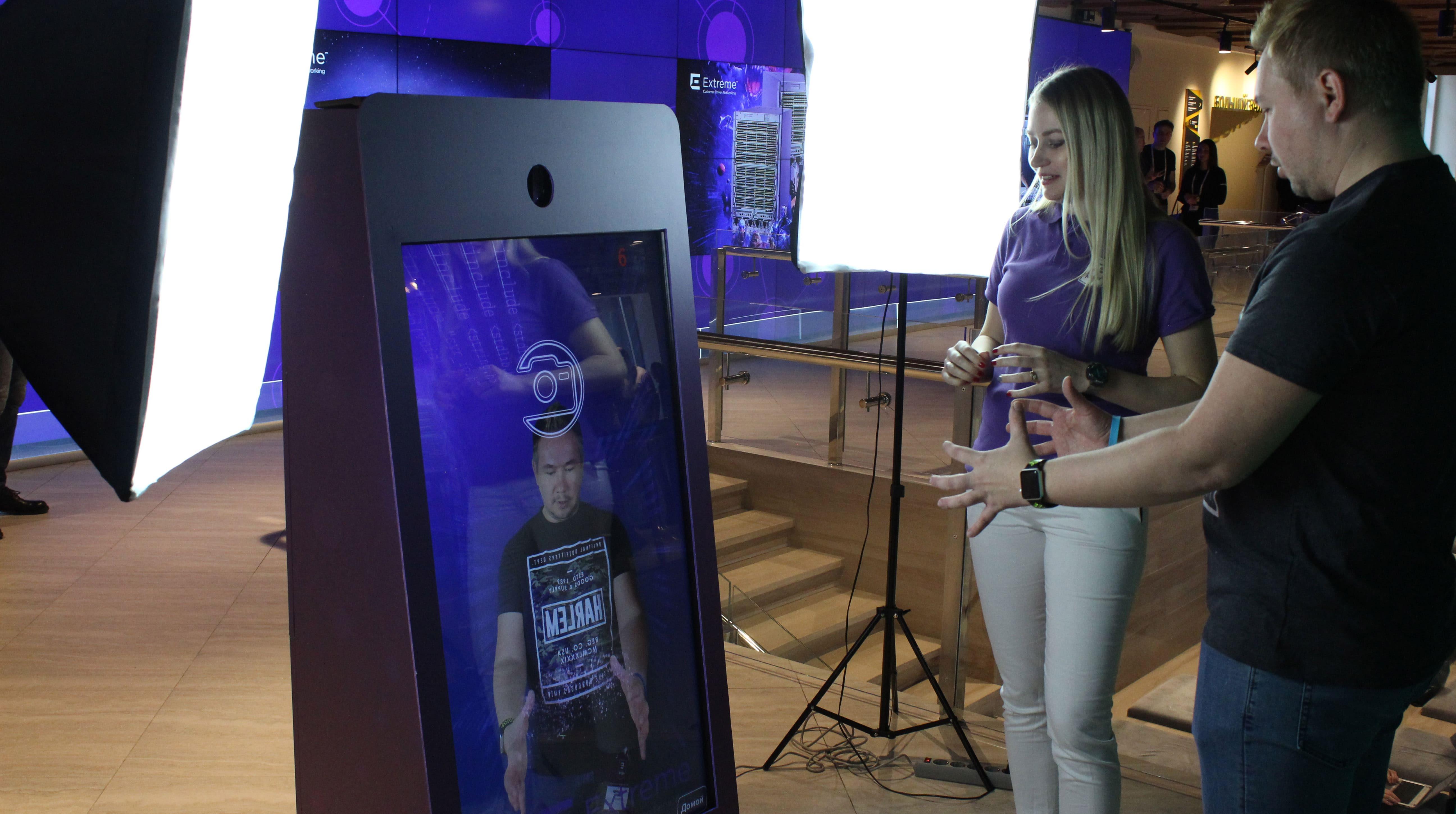 Фотозона с VR и AR